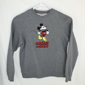 Disney Official Mickey Mouse Crewneck 2005